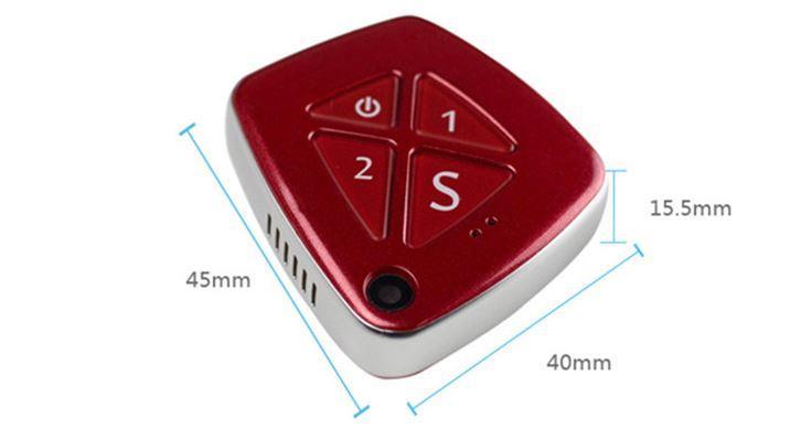 3G قلادة GPS تعقب الخرف المسنين - الحجم