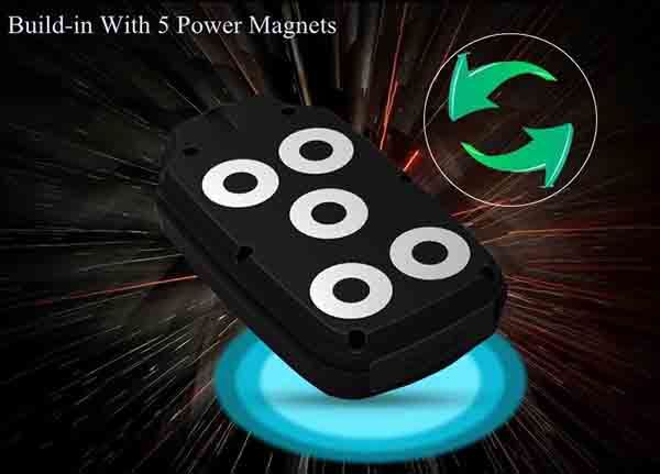 OMGGPS13D-B - Vehicle Car Magnetic 3G GPS Tracker - Build-In Magnets