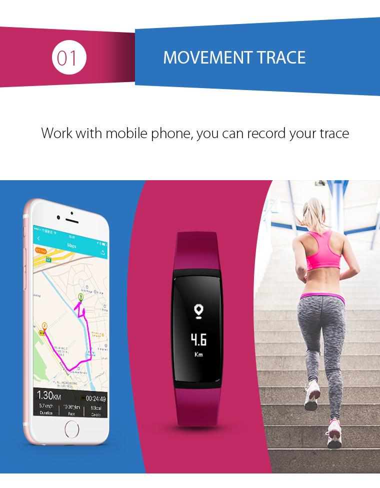 Health Bracelet - 01 Movement Trace