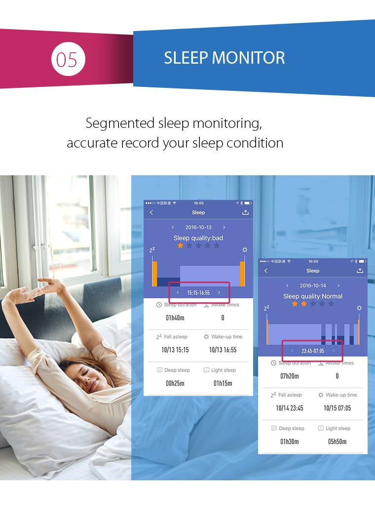 Health Bracelet - 05 Sleep Monitor