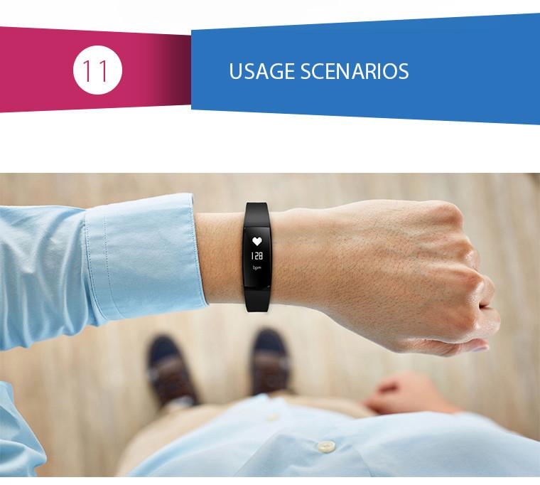 Health Bracelet - 11 Usage Scenarios