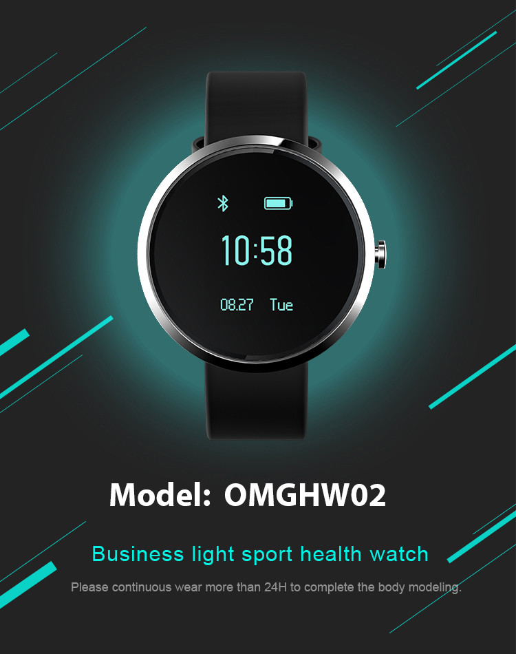 Health Wrist Watch [OMGHW02]