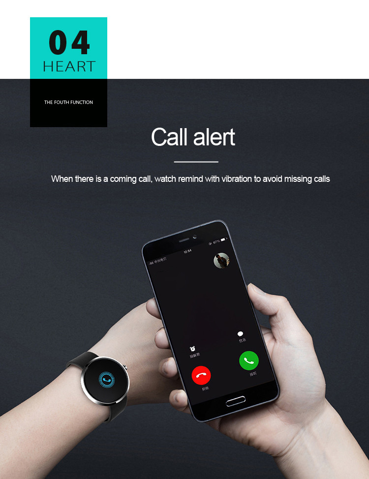Health Wrist Watch [OMGHW02] - Call Alert