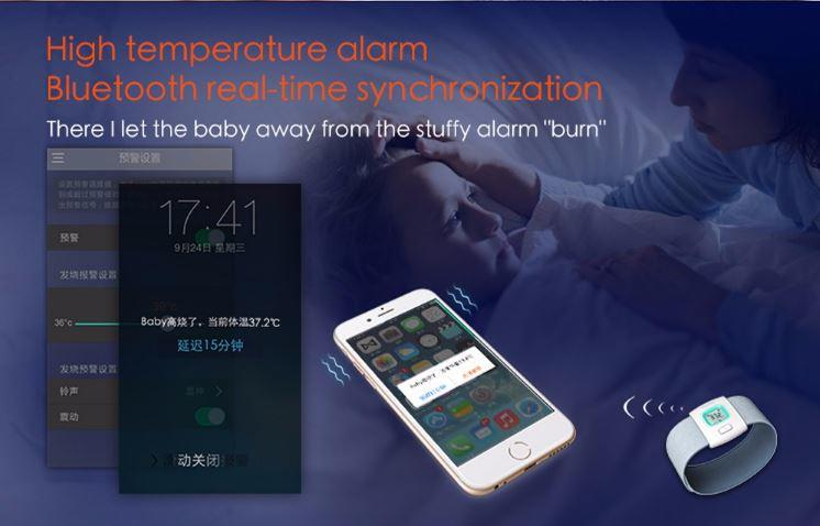 OMG - iFever - Intelligent Thermometer - High Temperature Alert - Bluetooth Real-Time Synchronization (omg-solutions.com)