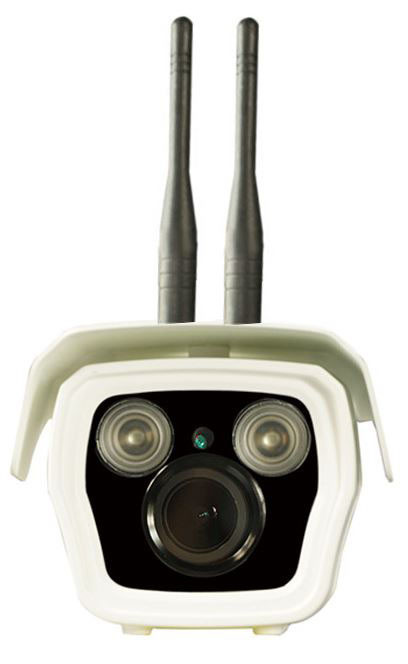 3G Sim Card Security Camera with Waterproof Night Vision - Front View 02