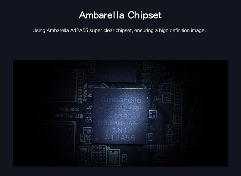 4G Body Worn Camera - Stand - Ambarella Chipset -S