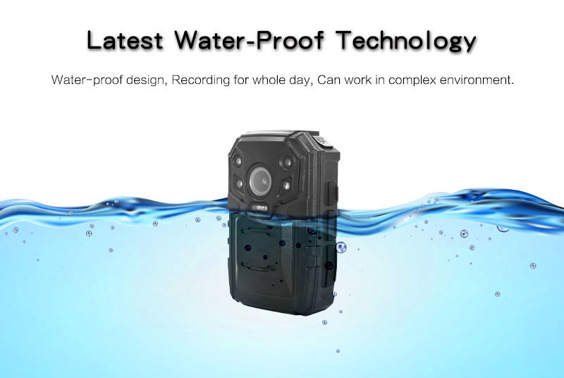 4G Body Worn Camera - Water-Proof -S