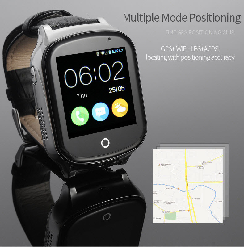 GPS20W - GPS Watch For Kids and Elderly - Multiple Mode Positioning