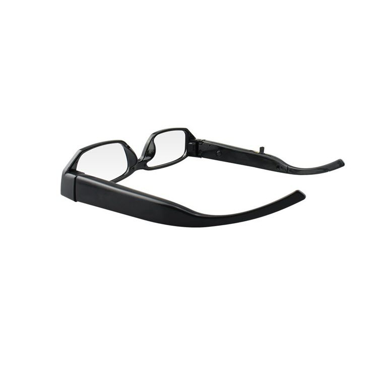 Fashion Spy Camera Eyeglasses (SPY10) - Side View
