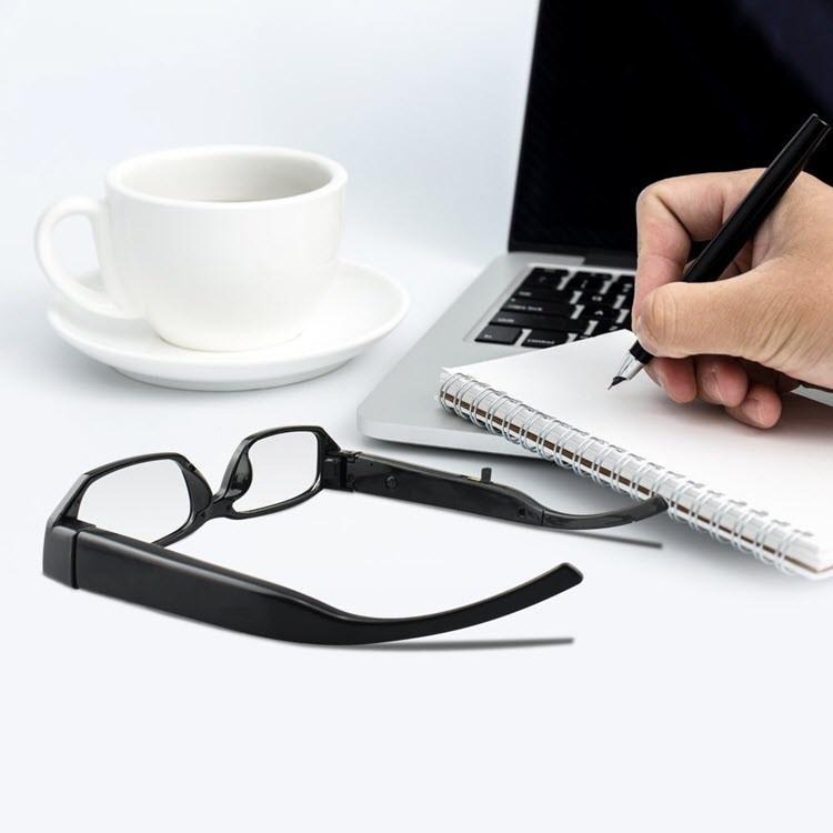 Fashion Spy Camera Eyeglasses (SPY10) - Use Case