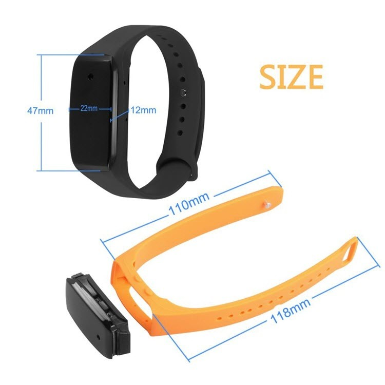 HD1080P Sports Wearable Bracelet Portable Hidden Camera - 3