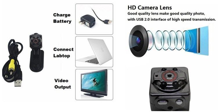 Mini kannettava kamera - 3