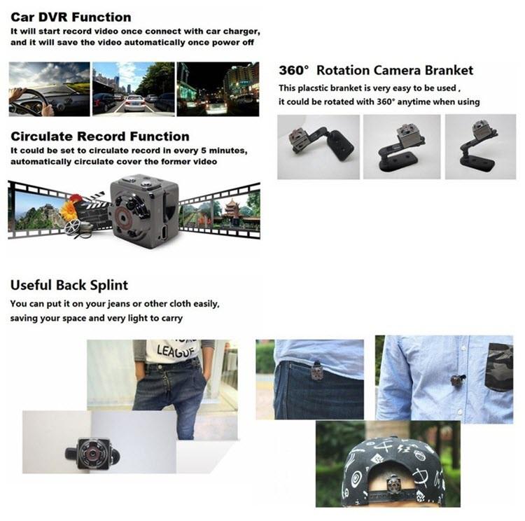 Mini kannettava kamera - 4