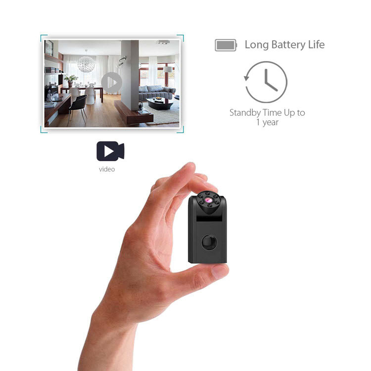Mini Spy Hidden Camera 720P - 4