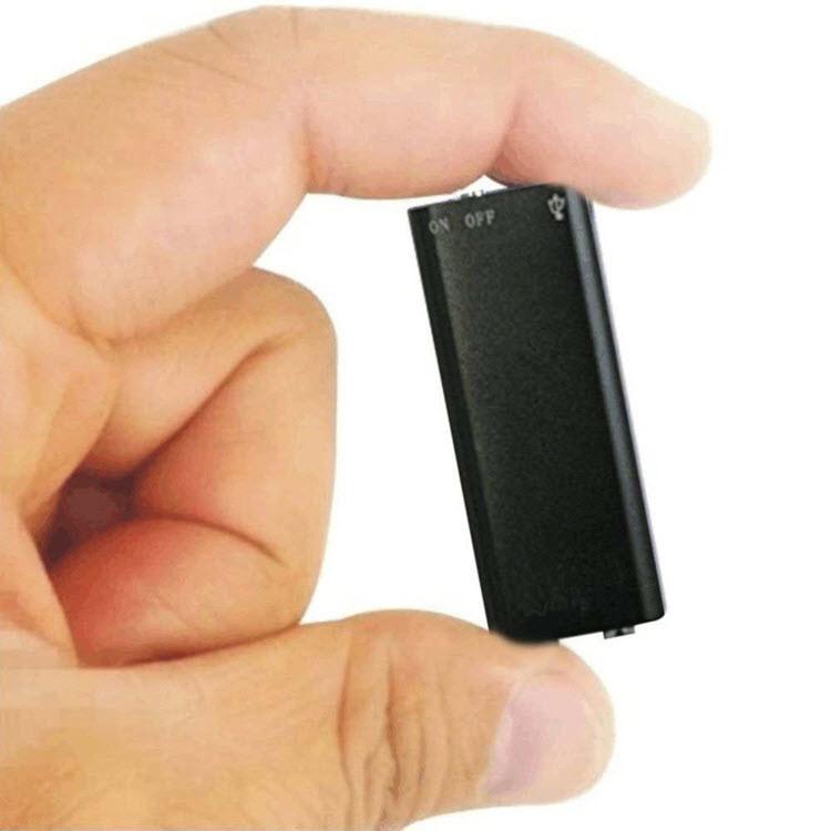 Mini Spy USB Audio Voice Recorder & MP3 Player Flash Drive - 1