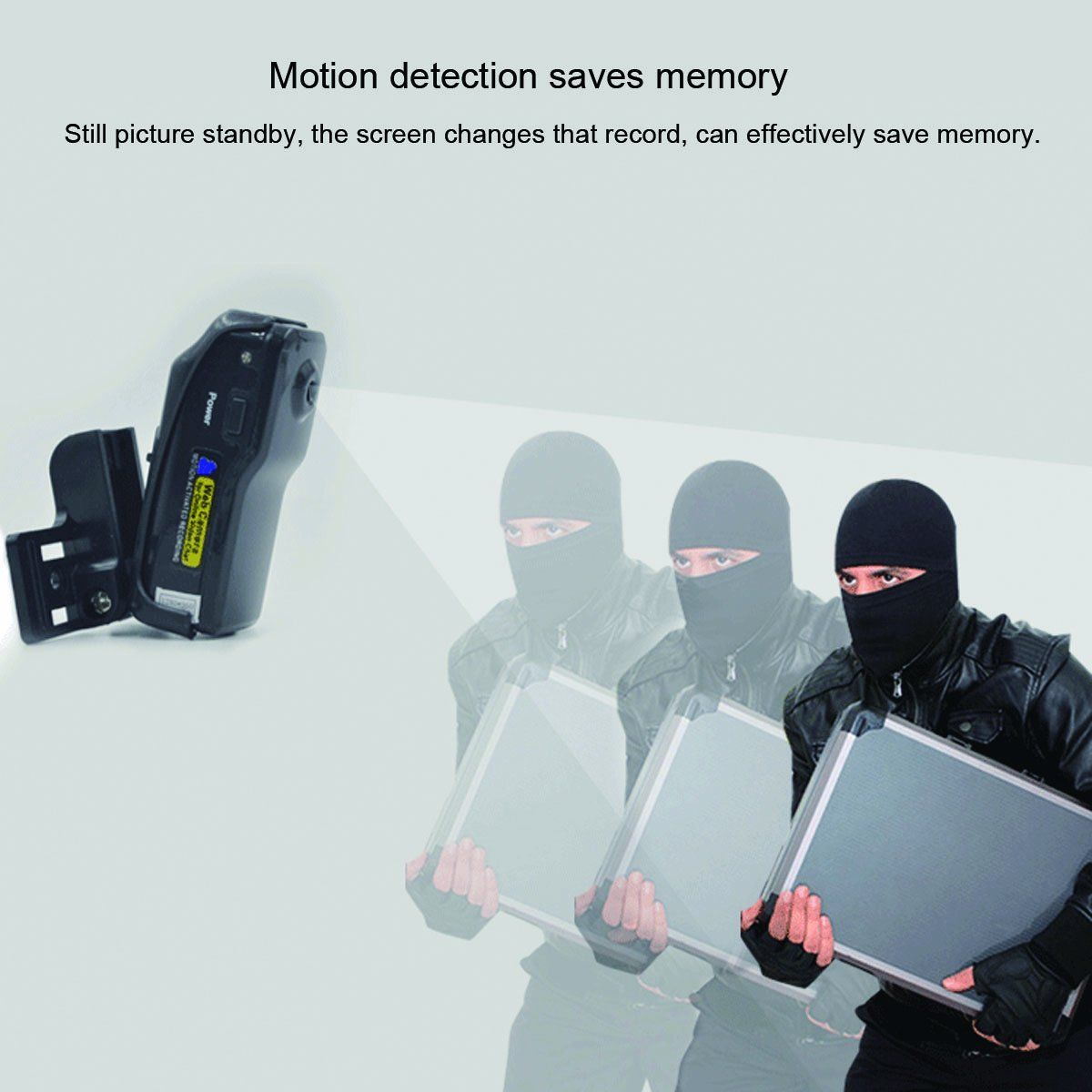 Mini spy camera 960P HD Camera with Motion Detection - Motion Dection Saves Memory
