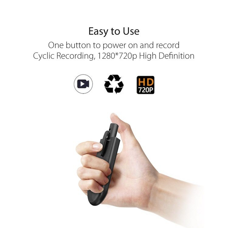 SPY09 - Pocket Video Pen Camera - Jednostavan za uporabu