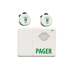 2 Call Button na may Pager (EA022)