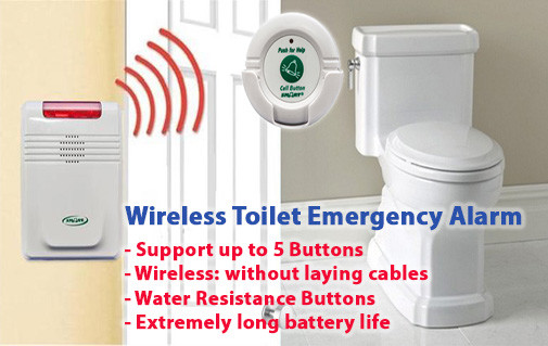 EA008-SETS - OMG Elderly: Wireless Toilet Emergency Alarm for Home - S$400