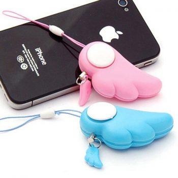 Angel Wing Personal Alarm for Women, Kids, Elderly, Night Worker - 6