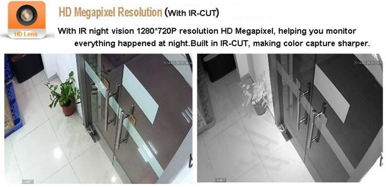 720P HD 4ch Kit AHD 4xel panell tàctil Kit AHD DVR Sistema de càmera CCTV AHD - 4