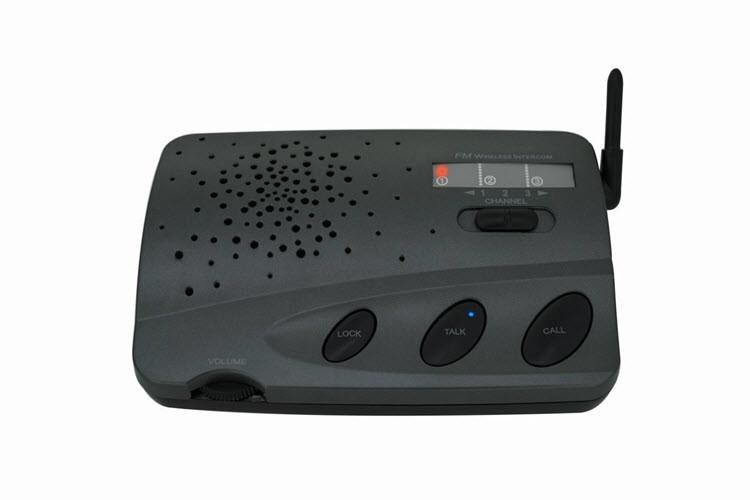 Brezžični 3 kanal Home Voice Intercom sistem za Office Shop - 2