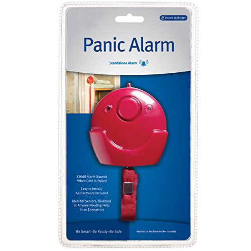 Wireless Elderly Panic Alarm with LOUD 120 dB Siren and LED Light DIY EASY Install - 2