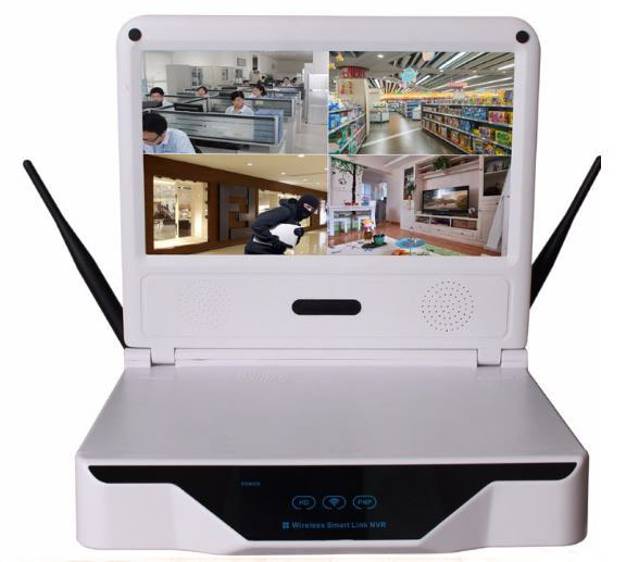 Wireless LCD 10.1 inch LCD screen NVR HD resolution - 2