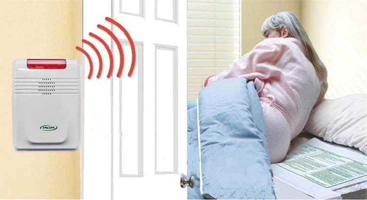 EA014 -  OMG Wireless Bed Exit Alarms for Home (Elderly Fall Prevention) - S$380