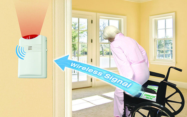 EA015 - OMG Wireless Chair Pad Exit Alarms for Home (Elderly Fall Prevention) - $380