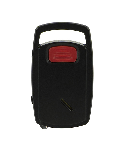 Self-Defense Push-Button Keychain Alarm, ynboude LED-ljocht (EA030)