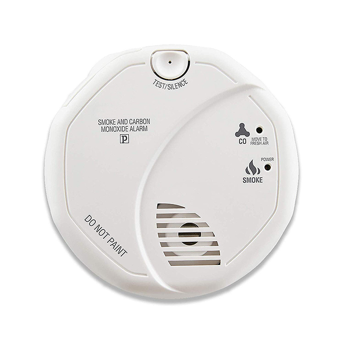 Smoke and Carbon Monoxide Detector, Battery Operated - 1