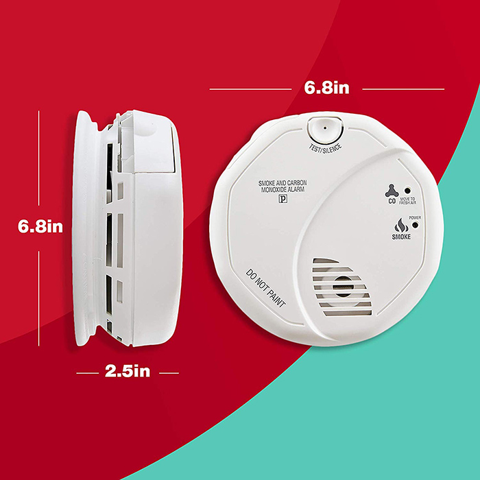 Smoke and Carbon Monoxide Detector, Battery Operated - 7