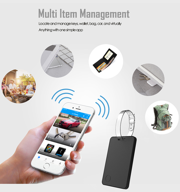 Crowd GPS Bluetooth Mini Anti Lost Finder for Staff, Elderly, Kids, Luggage - 14