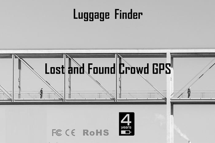 Crowd GPS Bluetooth Mini Anti Lost Finder for Staff, Elderly, Kids, Luggage - 15