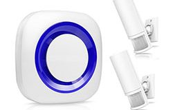 Smart Motion Wireless PIR Bewegingsensor Alarm - 1 250px