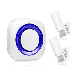Smart Motion Wireless PIR Motion Sensor Alarm (EA043) - S $ 350