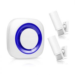 Smart Motion Wireless PIR Motion Sensor Alarm - Alarmo Senmeta PIR