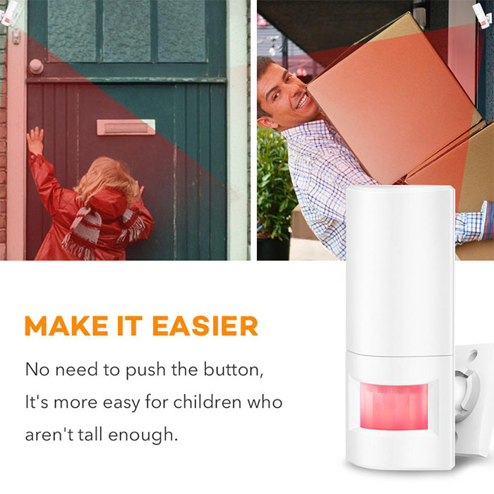 Smart Motion Wireless PIR Motion Sensor Alarm - 3