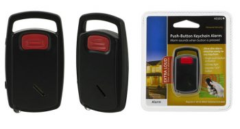 Id-Difiża tal-Push-Button ta 'Allarm Keychain, Dwal LED built-In (EA030) 650x