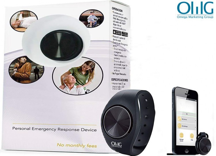 EA052 - OMG Wireless Wristband Personal Emergency Alert Device