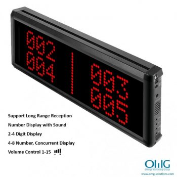 EA999-CM03 - Long Distance Wireless Emergency Panic Button - Central Monitoring Display Unit (4 Digit Display) - Main Page