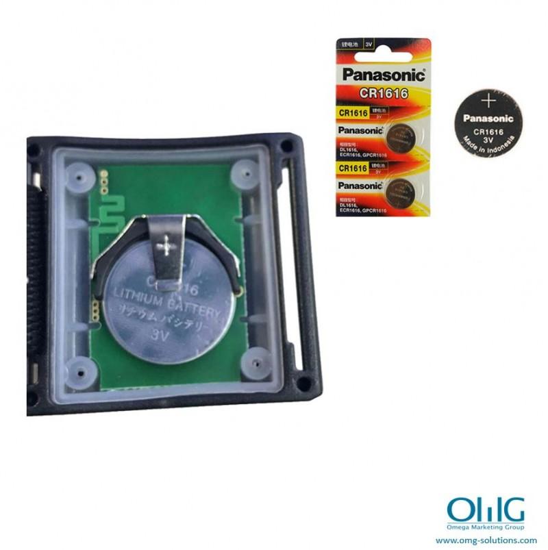 EA999-BP06 - bezvadu āra pulksteņu aproces bezvadu spiedpoga - akumulators