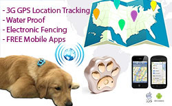 GPS Pets Tracker - Dogs [Waterproof] (GPS12D)
