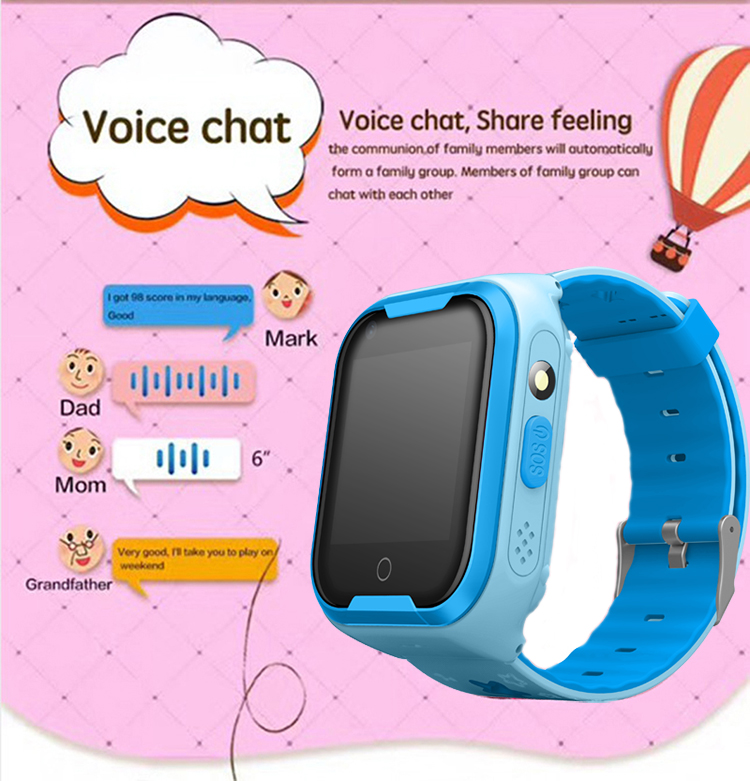 Waterproof 4G Video Call Watch - Voice Message Chatting