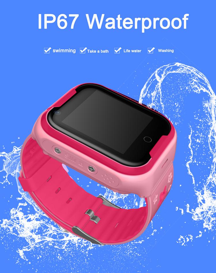 Waterproof 4G Video Call Watch - 9