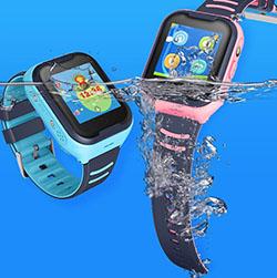 Viimeisin Singapore vedenpitävä videopuhelu GPS Kids Watch (GPS033W) - S $ 298