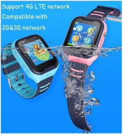 GPS033W - 4G Waterproof Video Call Watch - Suporta 4G LTE 2G 3G