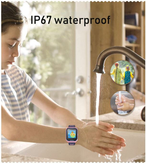 GPS033W - 4G Waterproof Video Call Watch - Waterproof 02