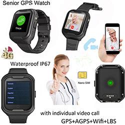 Elderly Health Monitoring GPS Watch (GPS034W) – S$298